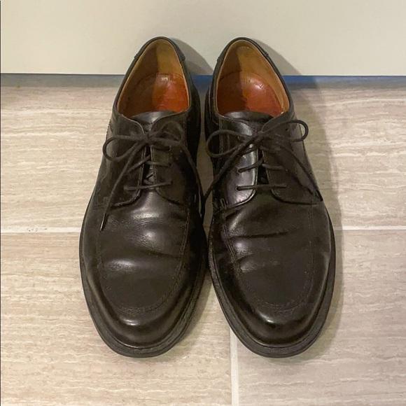 Ecco Black Leather Dress Shoe size 11